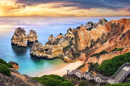 O Camilo beach in Lagos - Algarve