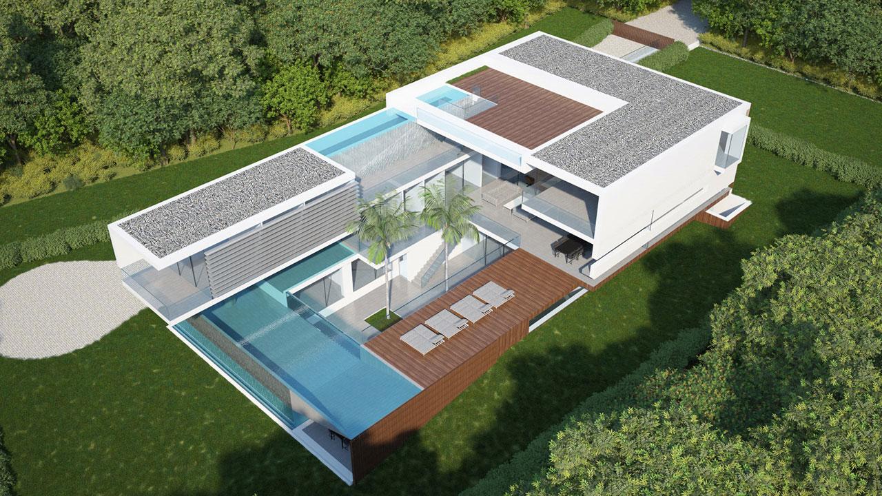 Luxury villa AltaVista da Luz - Lote1
