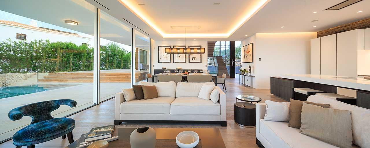 AltaVista da Luz Casa Serena - show villa - livingroom